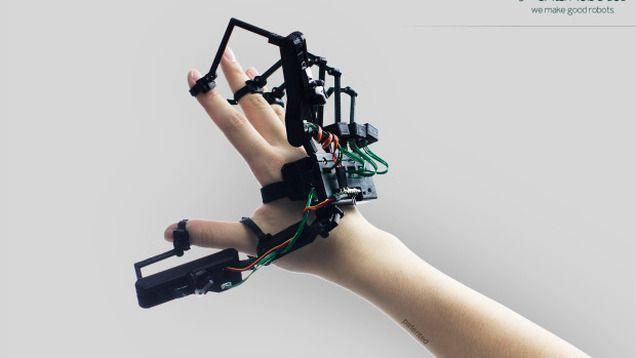 Dexmo F2, el tacto llega a la realidad virtual