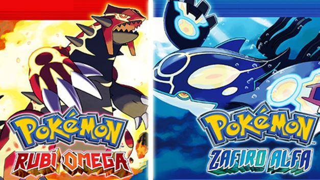 Pokemon Rubí Omega y Pokemon Zafiro Alfa