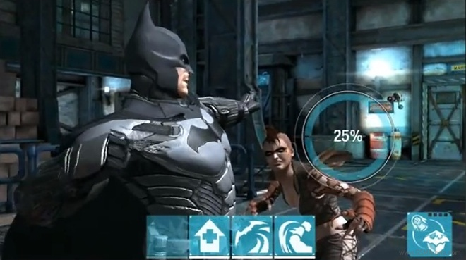 Batman: Arkham Origins llega a Android e Iphone
