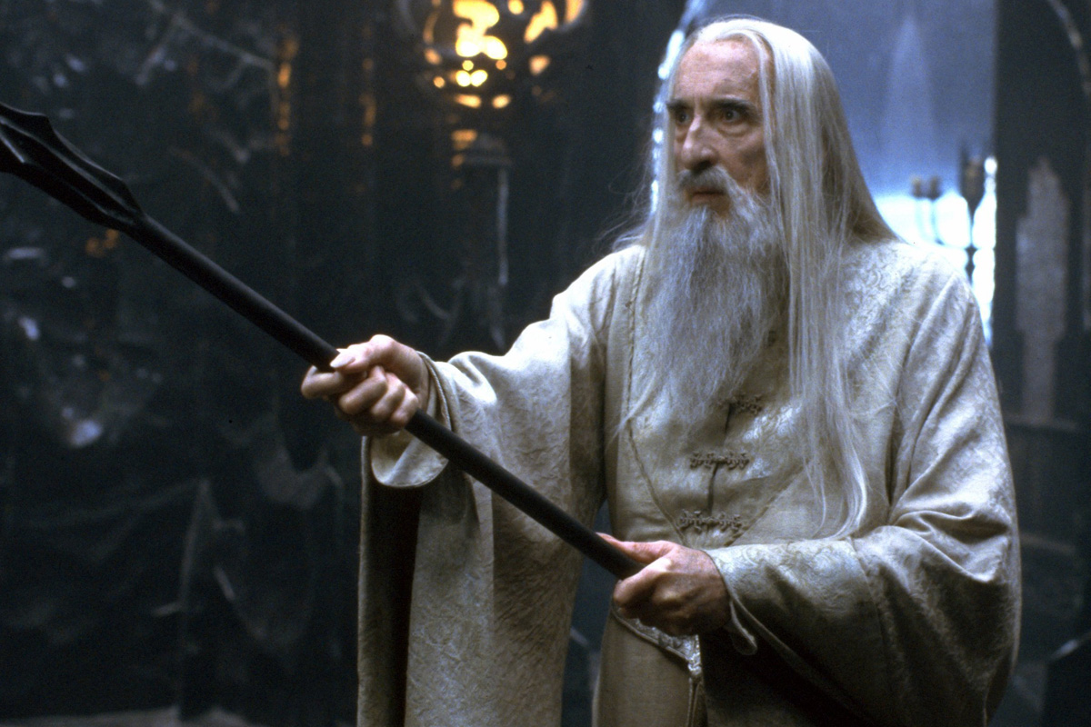 Christopher Lee Saruman