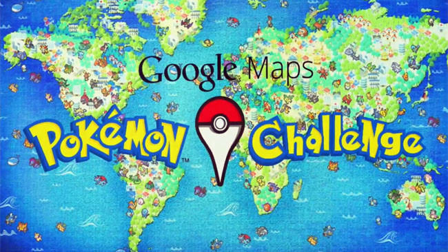April Fool's Day: Google & Pokemon
