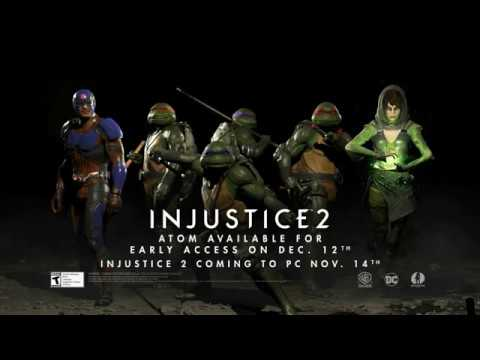 Injustice 2 DLC nos trae a las Tortugas Ninja