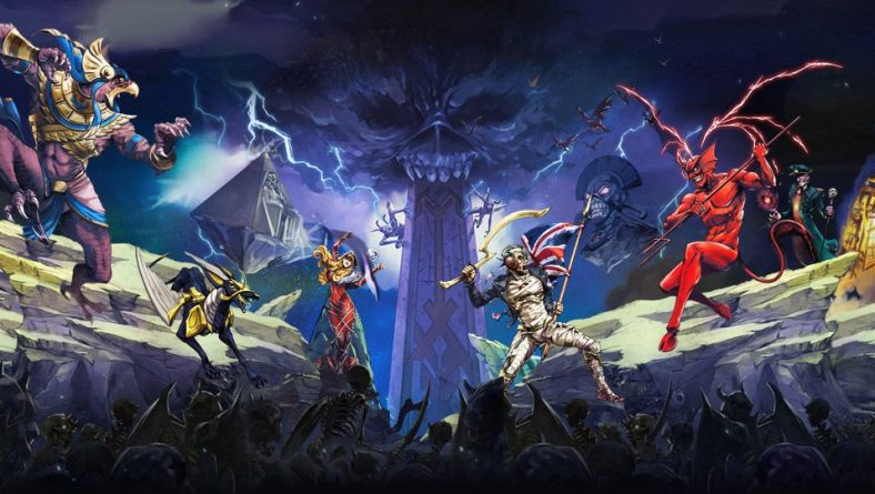Iron Maiden lanzará RPG para Móvil Free-to-play