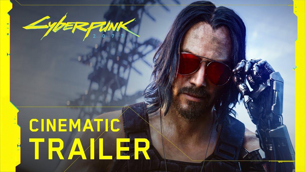 Keanu Reeves está en Cyberpunk 2077, lanzamiento para Abril 2020