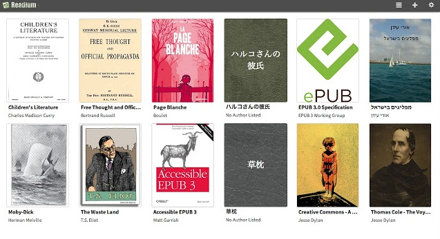 Readium: El lector por excelencia de EPUB para Chrome