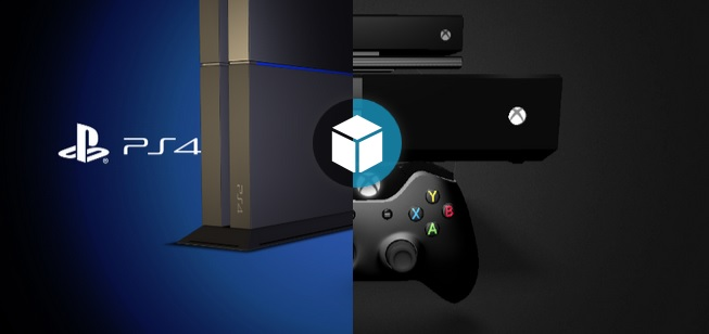 Modelos Interactivos de la PS4 y la Xbox One