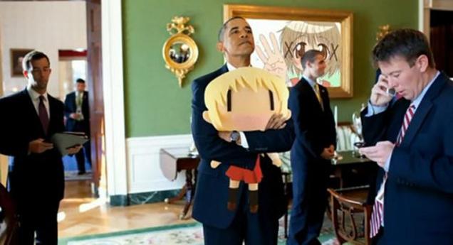 Obama Ama el Anime