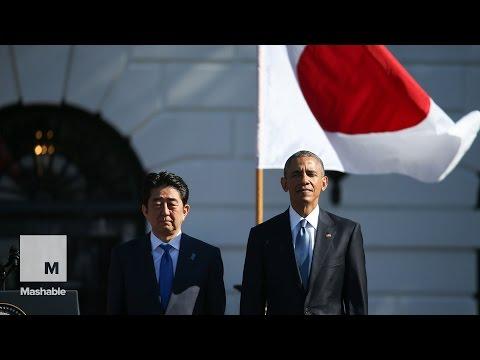 Obama agradece a Japón el Anime