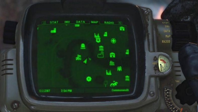 Fallout 4 OVNI y Blaster Alienígena