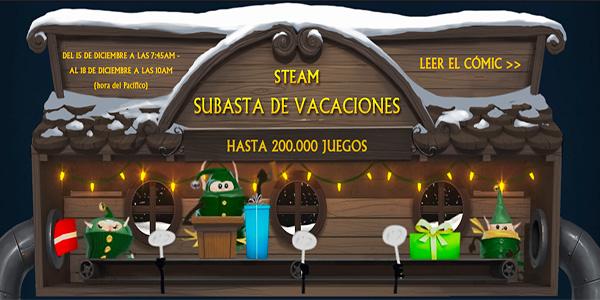 Steam Subasta de Vacaciones