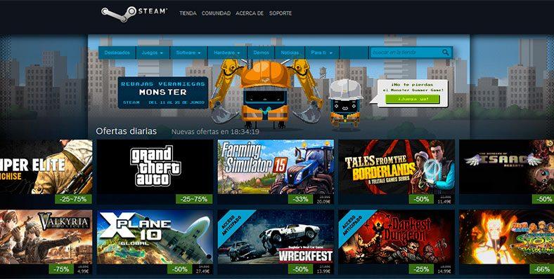 Rebajas de Verano Steam 2015