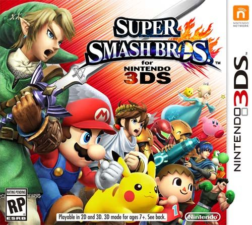 Super Smash Bros para Nintendo 3DS