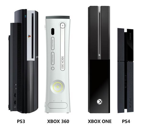 E3 2013: Tamaño de las nuevas consolas